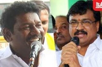 Karunas Angry over MLA Saravanan's Allegation