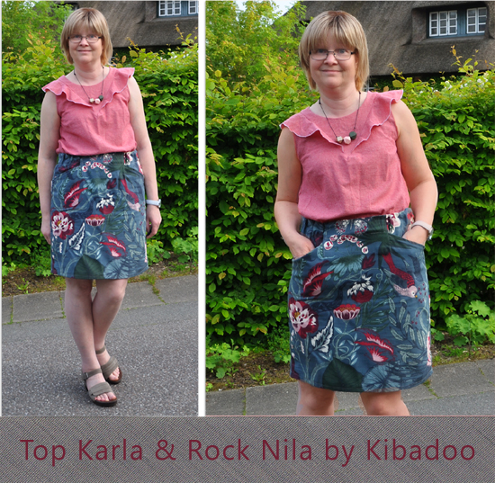 Top Karla & Rock Nila by Kibadoo