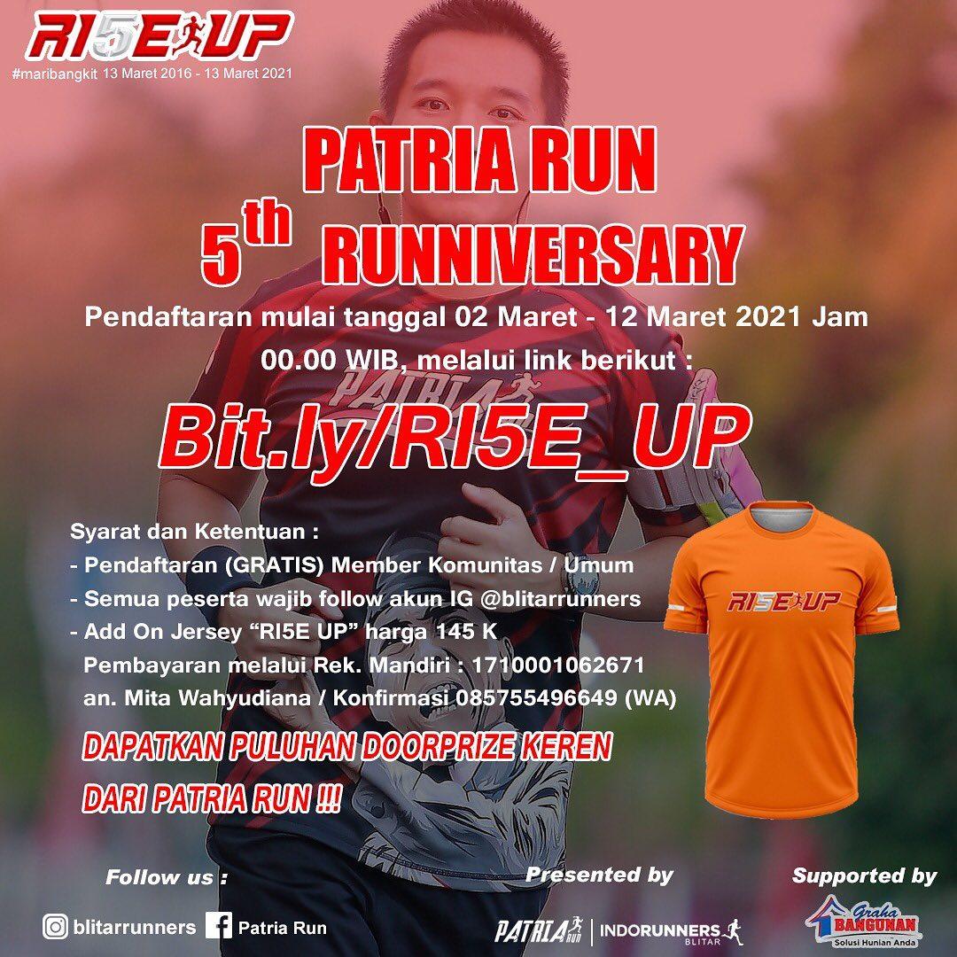Patria Run 5th Runniversary • 2021