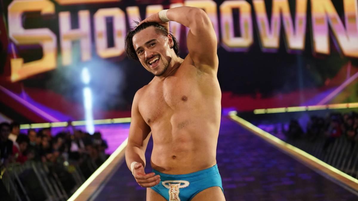 Angel Garza foi retirado de última hora da 30-Man Royal Rumble Match