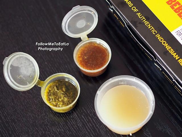 Signature Sambal Ijo, Sambal Kecap Spesial With  Sayur Asam Soup