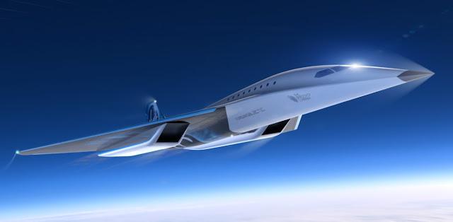Mach-3 Supersonic Passenger Aircraft