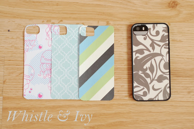Easy custom iphone 5 5s 5c case whistle and ivy for Diy custom phone case