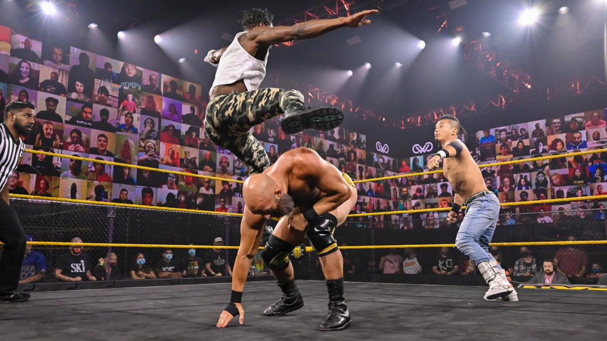Triple H impressionado com performances de KUSHIDA, Tommaso Ciampa e Velveteen Dream no WWE NXT