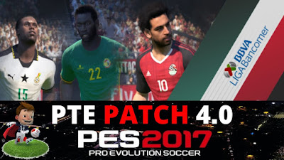 PTE Patch 4.0 Pes 2017