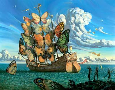 Resultado de imagem para dali borboletas
