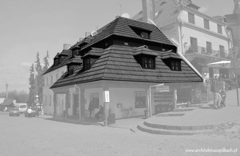 dach polski łamany, kazimierz dolny