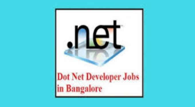 Net developer job in banglore argent requirements