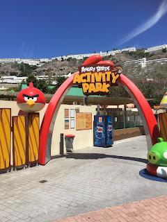 Angry Birds parken i Puerto Rico