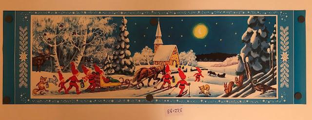 Joulutaulu, sivusuun, paperitaulu, #joulutaulu