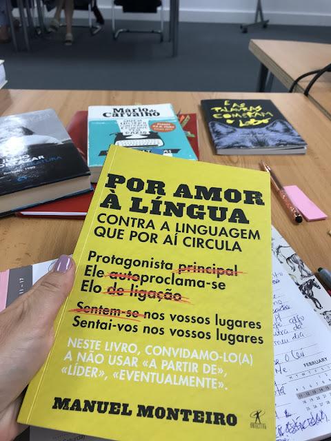 Por amor à língua, Manuel Monteiro