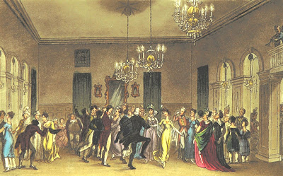 Ballroom, Scarborough, from Poetical Sketches of Scarborough by F Wrangham, W Combe and J B Papworth Pub Ackermann (1813) from Metropolitan Museum of Art