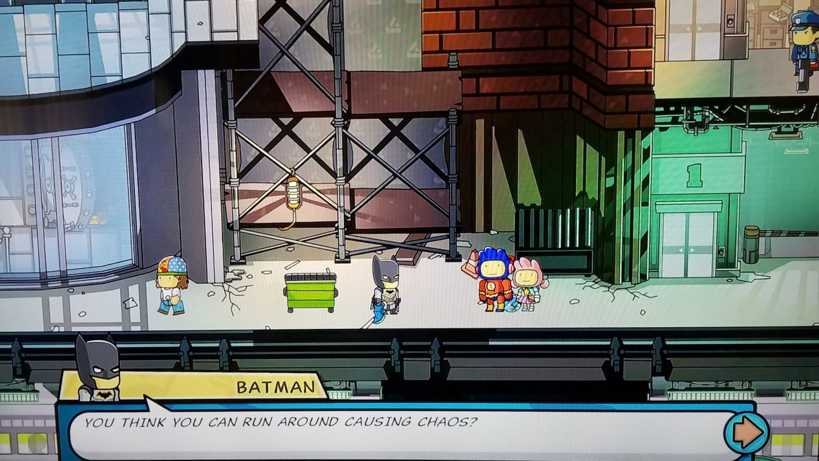 A GEEK DADDY: SCRIBBLENAUTS BATMAN DAY FUN