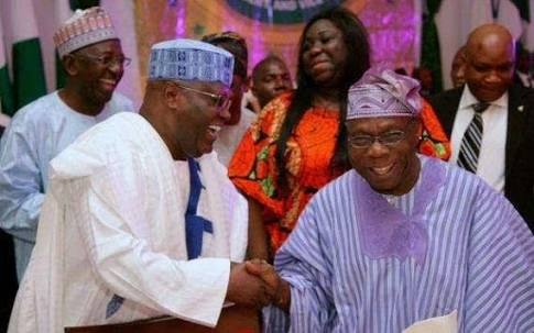Obasanjo's Alleged Planned Arrest By FG: Atiku Reacts