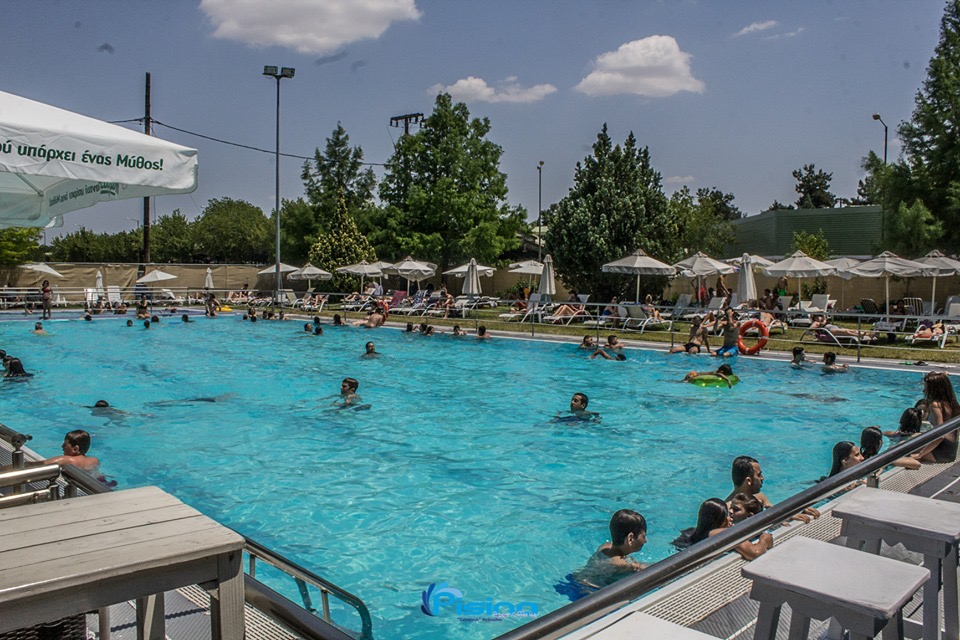 Κανονικά συνεχίζει τη λειτουργία της η δημοτική πισίνα στις εγκαταστάσεις της Νεάπολης