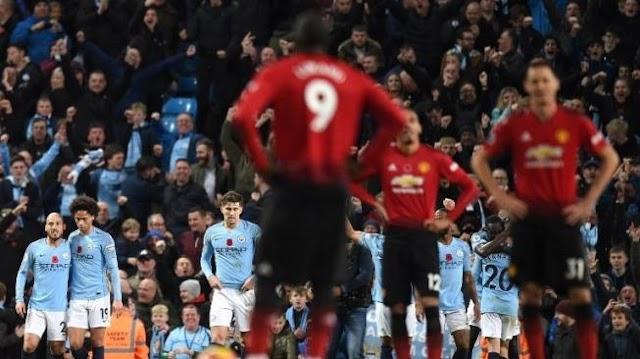 Libas Manchester United, Manchester City Kembali Memimpin