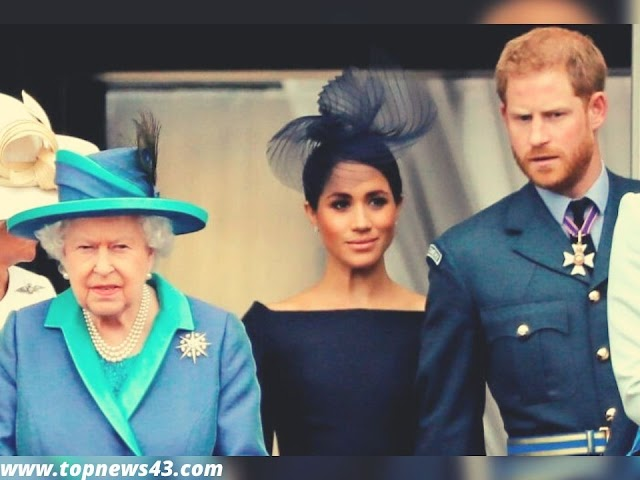 Harry And Meghan - Queen Gives Her Blessing For Getting Out