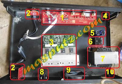 Cara Mudah Merakit Power Amplifier 200 Watt Stereo