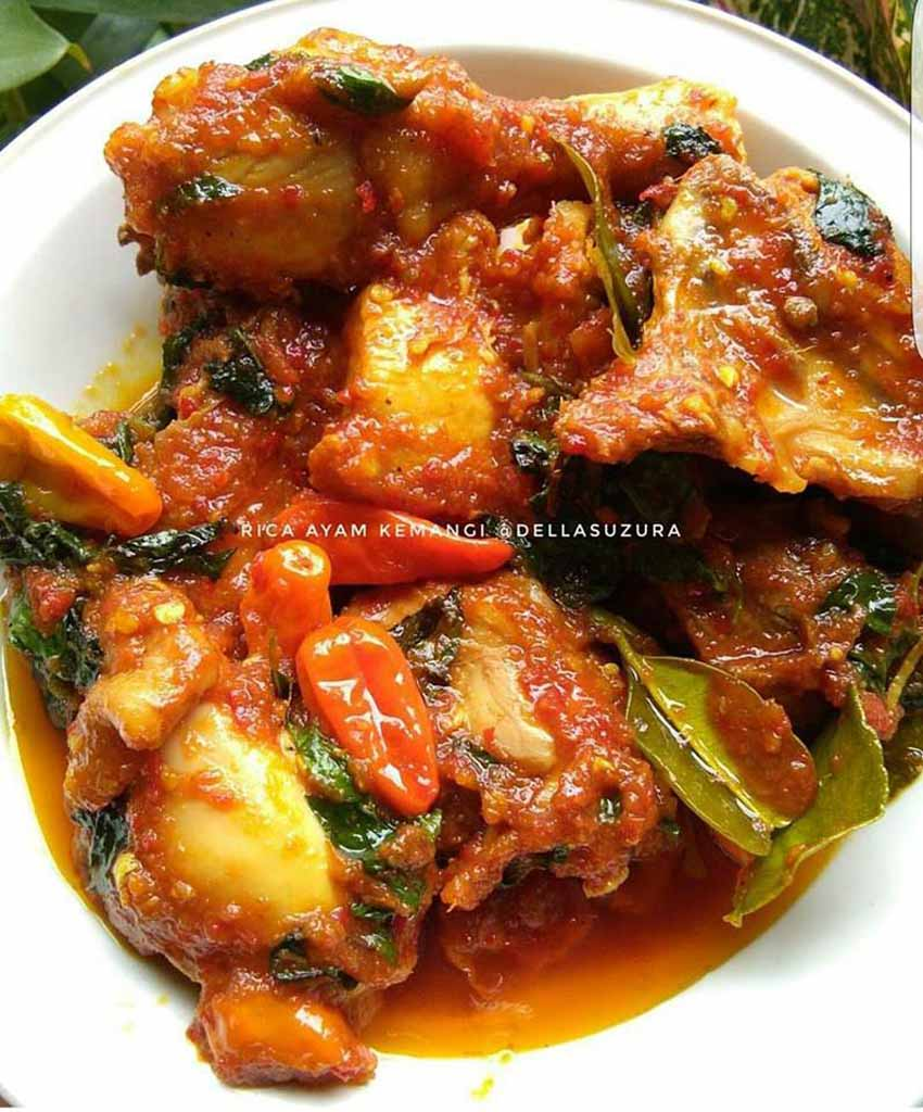 Ini Baru Resep Ayam Rica Rica Kemangi Yang Wangi, Enak, Empuk dan Bumbunya Lazizzz Bikin Makan Nambah Terus