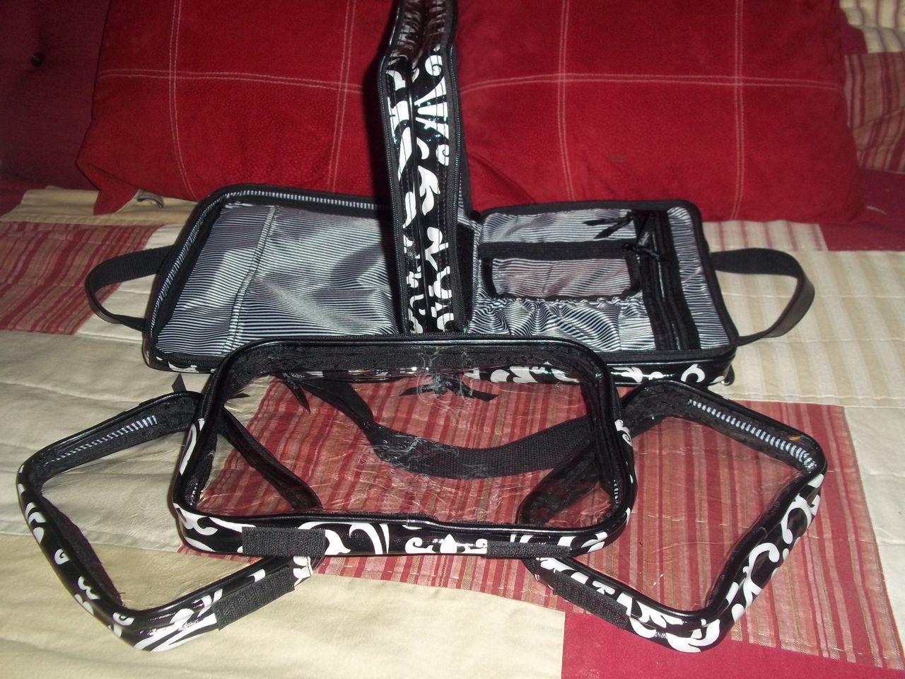 Simply Being Kari Thirty One Double Zip Cosmetic Bag