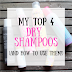 My Top 4 Favorite Dry Shampoos (and how to use them!)