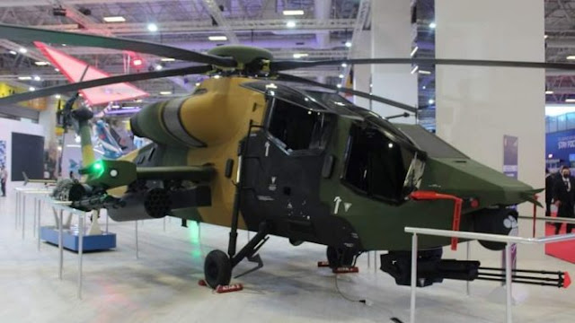 Turki Pamerkan Helikopter Serbu Yang Lebih Hebat