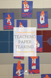 Humpty Dumpty Paper Tearing Display Teach Magically