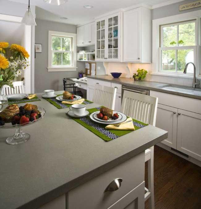 30 Ways To Make Gray Kitchen Cabinets