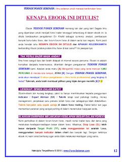 Teknik forex sebenar free pdf download