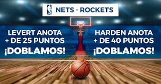 Paston promocion baloncesto nba nets rockets 2-11-2019