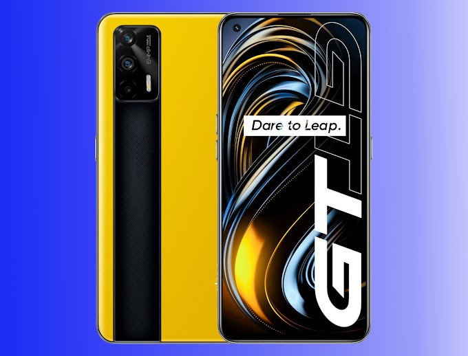 Sorteio de 4x Smartphones Realme GT 5G