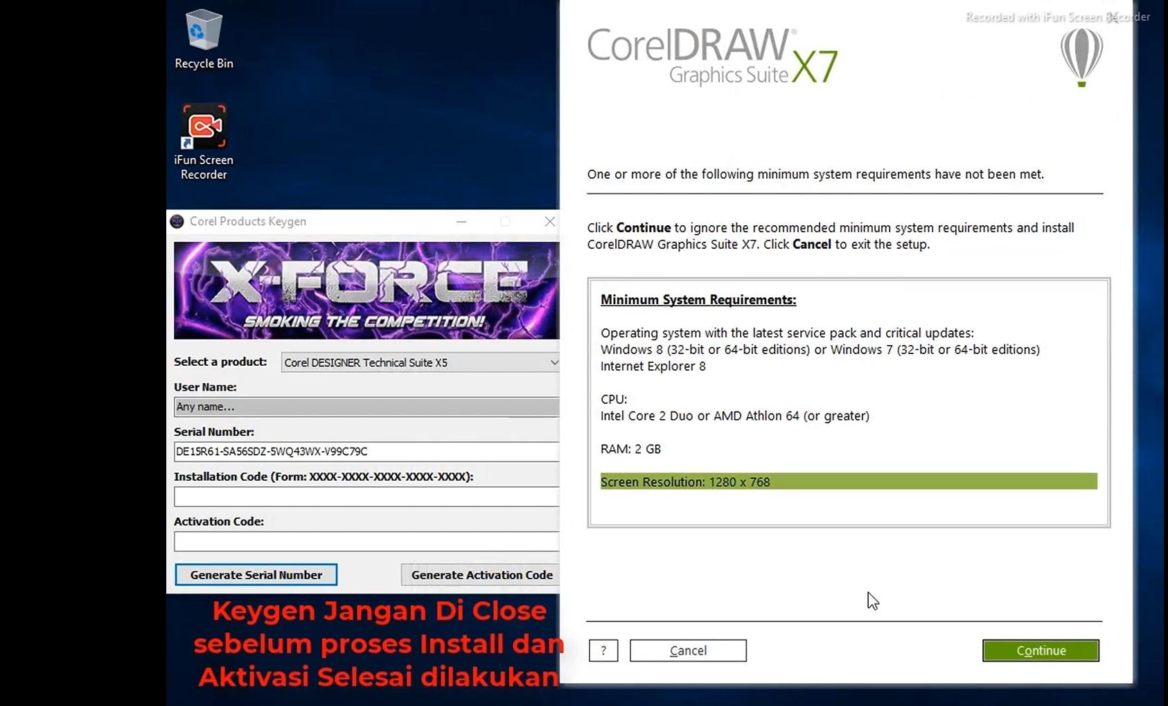 Cara Menginstall CorelDraw X7 Full Version