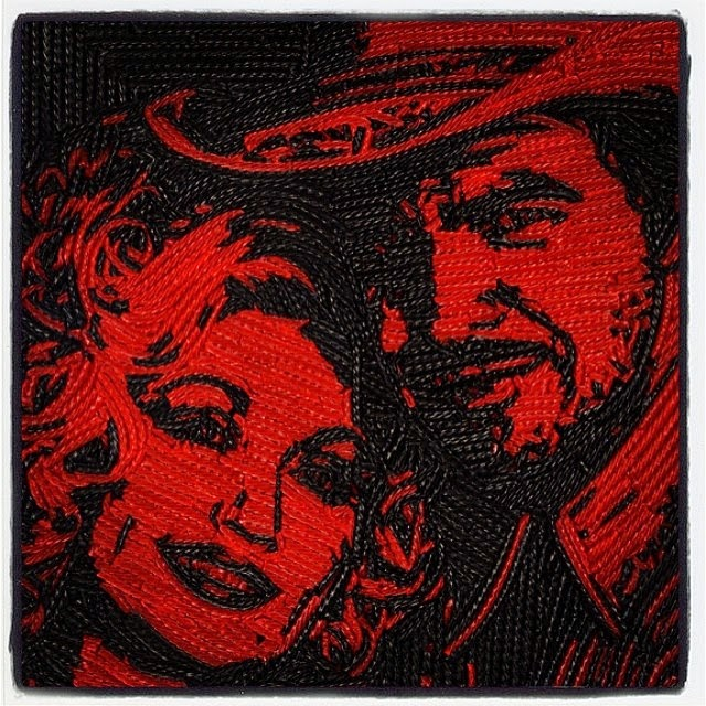 29-Burt-Reynolds-Dolly-Parton-Jason-Mecier-Paintings-or-Sculptures-in-Portrait-Collage-www-designstack-co