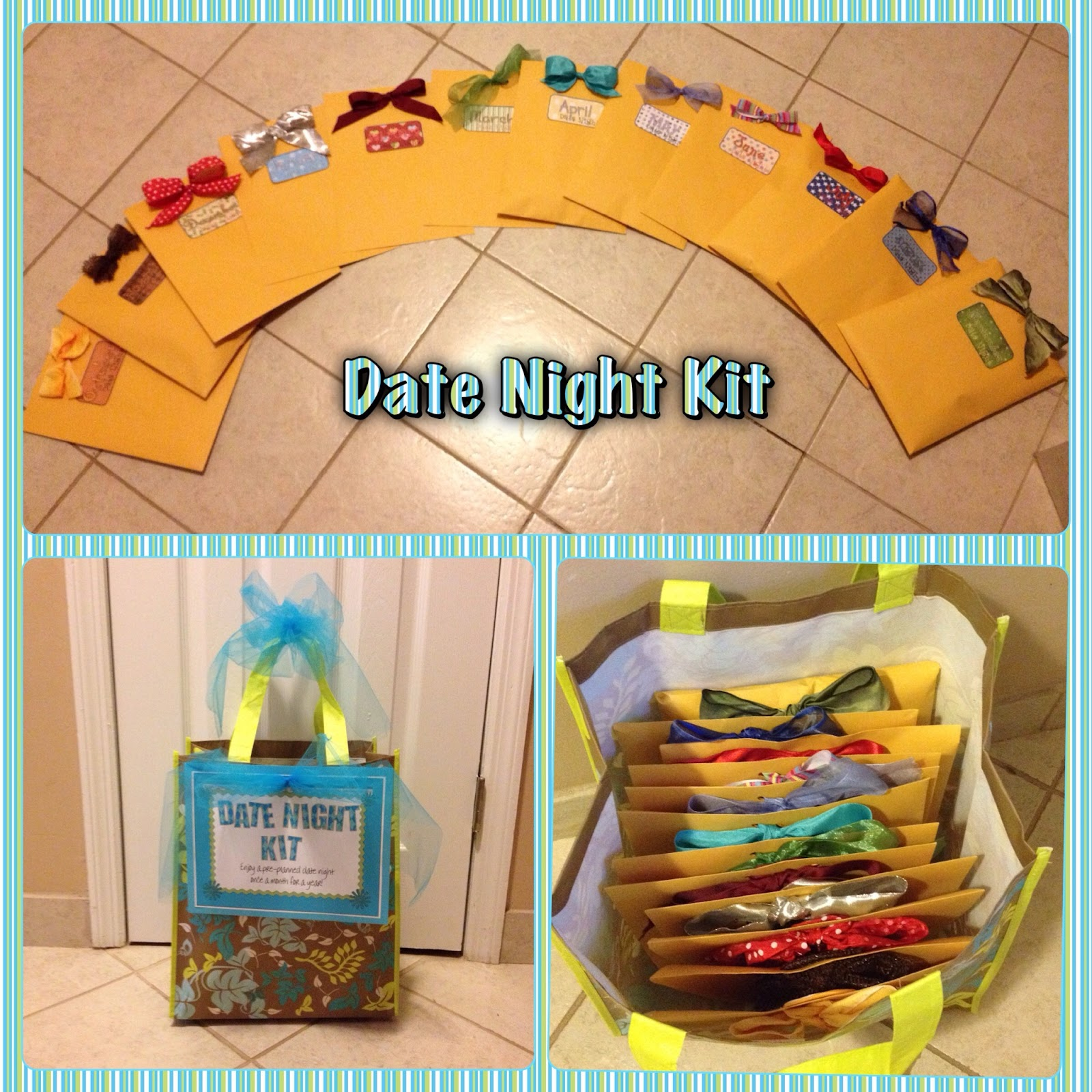 Wedding Night Basket Ideas: Parties4Ever: Date Night Kit