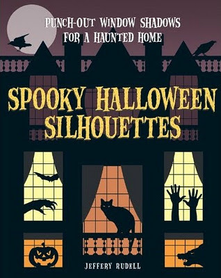 spooky Halloween silhouettes book cover