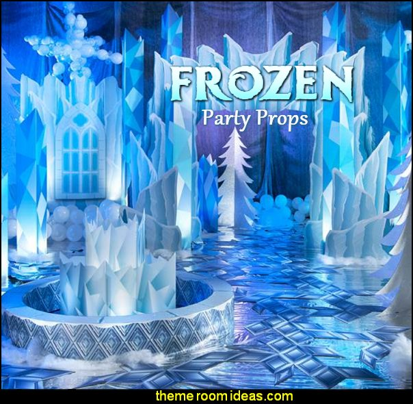 Frozen Fantasy Kit Frozen Fantasy party props Frozen Fantasy decorations