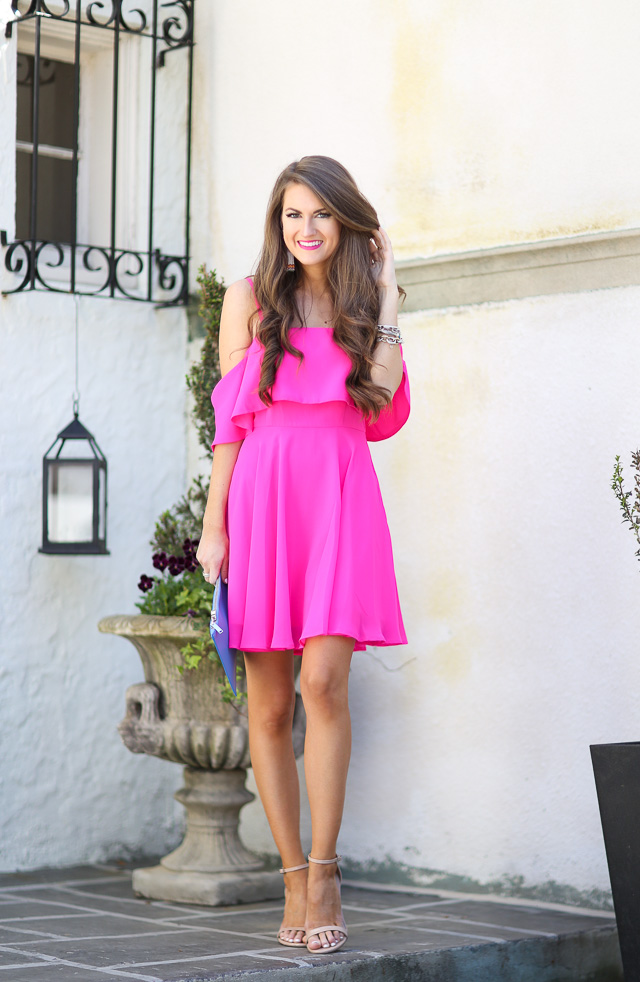 Southern Curls & Pearls: Hot Pink...
