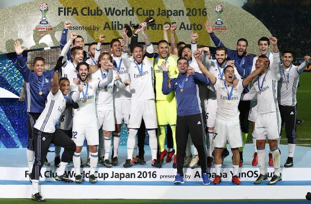 Real Madrid Sukses Mejuarai Piala Dunia Antarklub