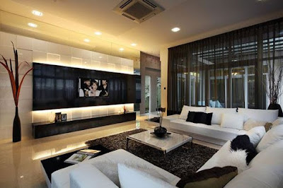 Modern Interior Design Living Room Ideas With TV
