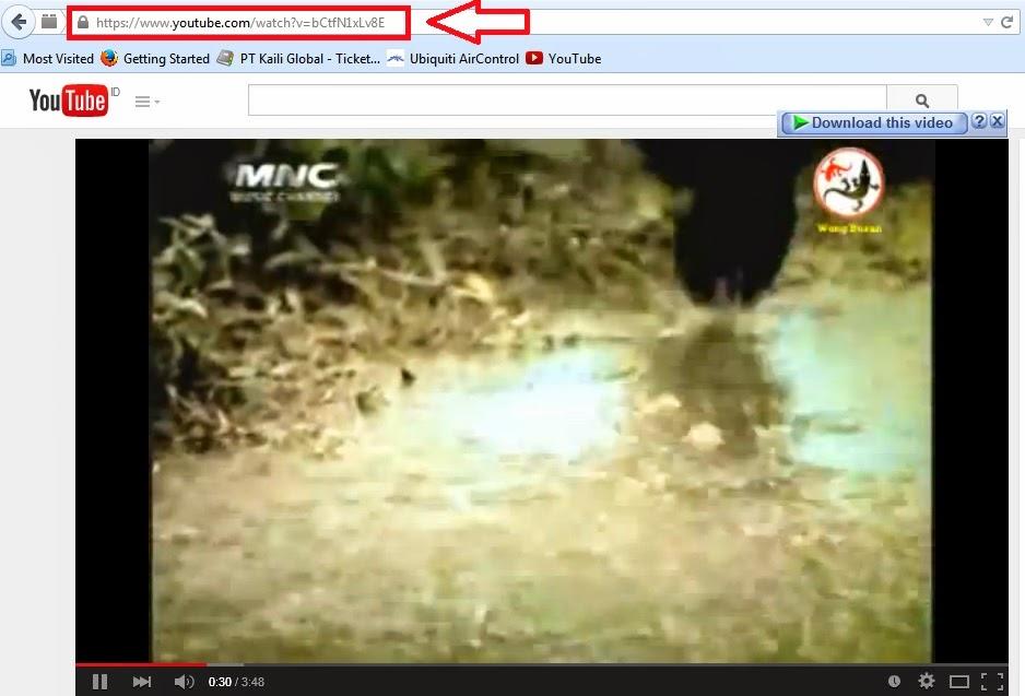 cara mudah download youtube
