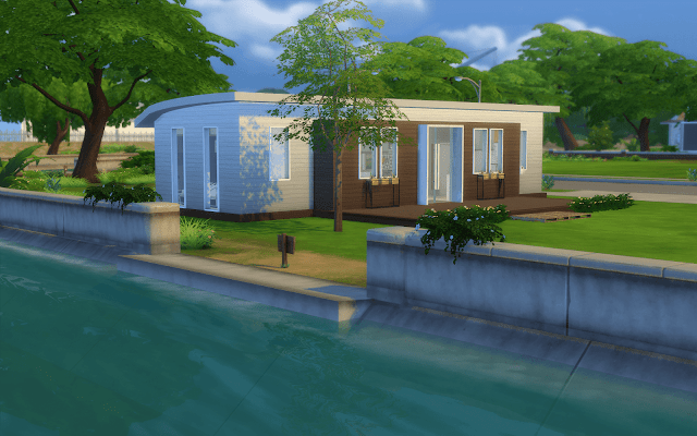 petite maison sims 4