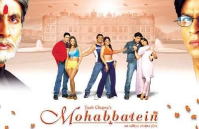Mohabbatein 2000 Full Movies Free Download 480p BluRay