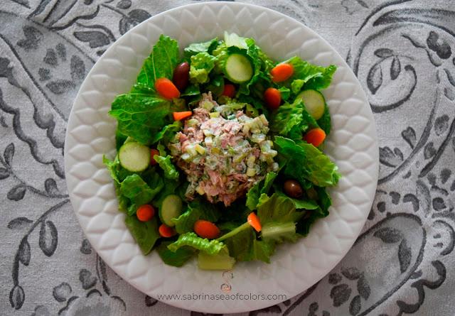 Ensalada de atún, receta sin mayonesa