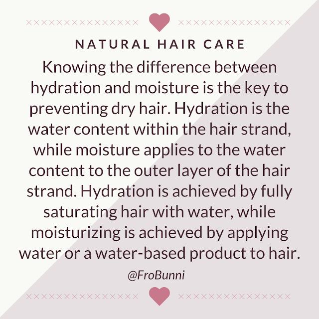 Hydration vs. Moisture explaination