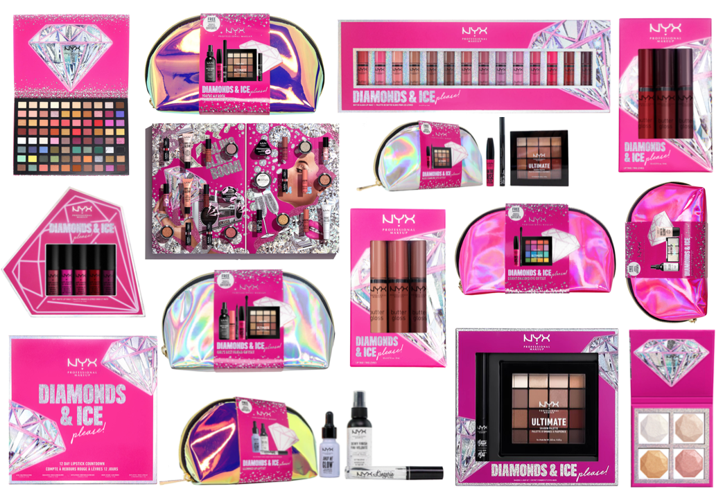 NYX Christmas 2020 Gift Sets & Advent Calendars (Diamonds and Ice Please)