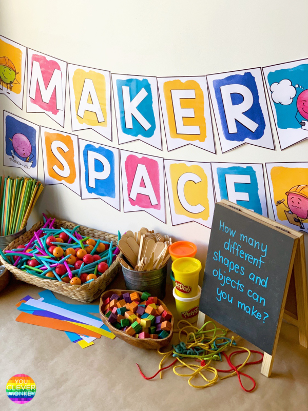 Creating a Maker Space In the Classroom | you clever monkey