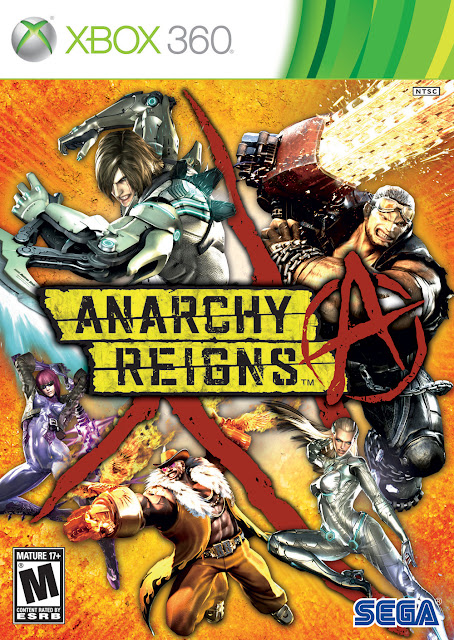 Anarchy Reigns - Xbox 360 - Portada