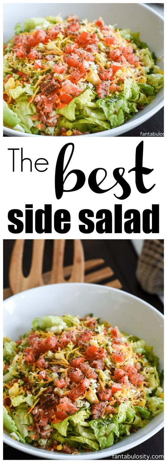 The Best Side Salad Recipe