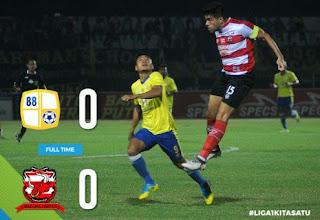 Barito Putera vs Madura United Imbang 0-0