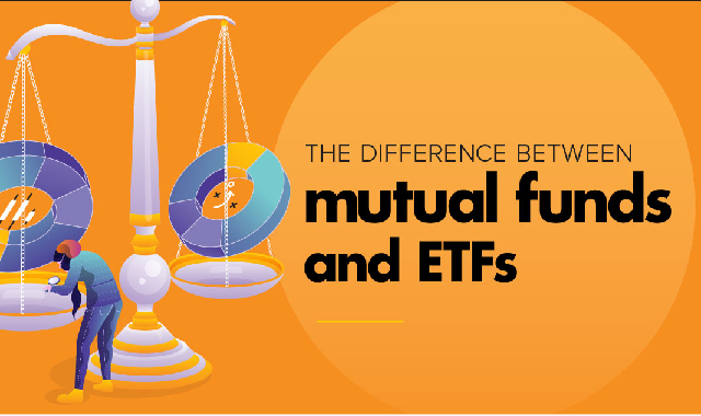 The Difference Between Mutual Funds And Etfs #infographic